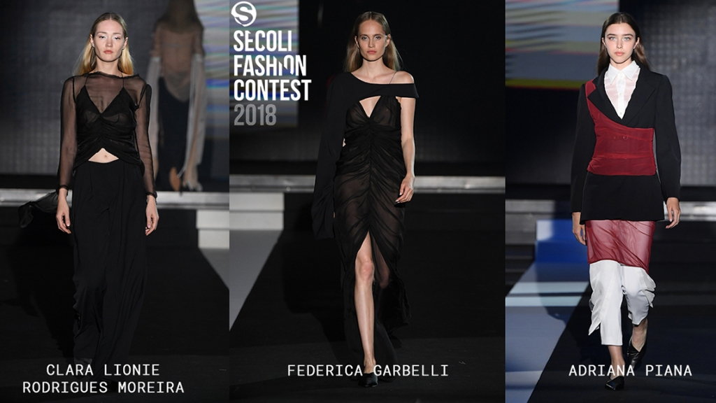 ISTITUTO SECOLI ASSIGNES THREE SCHOLARSHIPS TO THE WINNERS OF THE SECOLI FASHION CONTEST