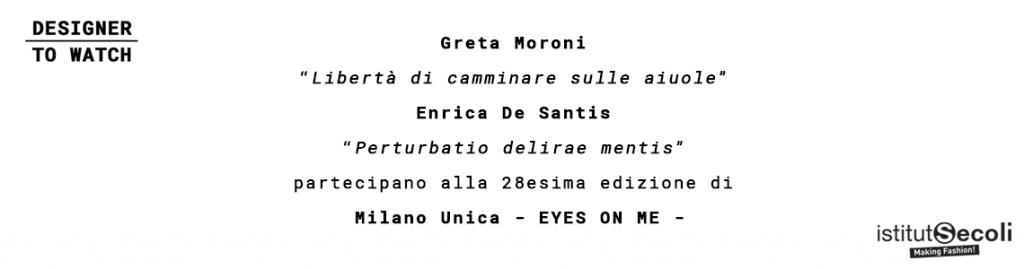 ISTITUTO SECOLI AT MILANO UNICA 2019