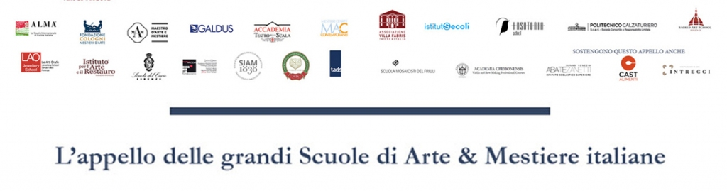 THE APPEAL OF THE MAIN ITALIAN ART & CRAFTS SCHOOLS