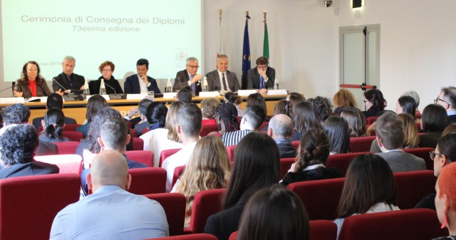 23 MARCH, AT PALAZZO REALE, THE 73rd DIPLOMA CEREMONY