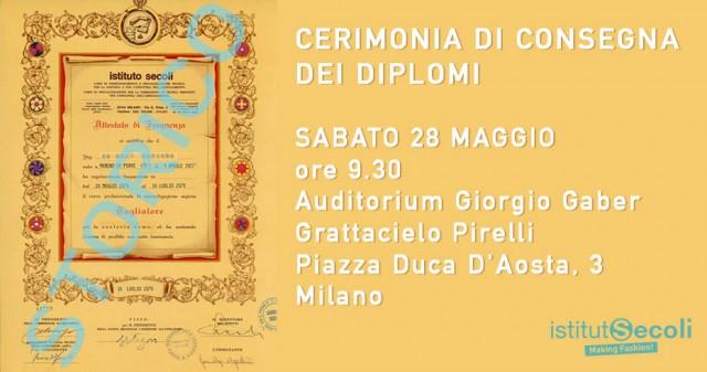Cerimonia di Consegna dei Diplomi 2016