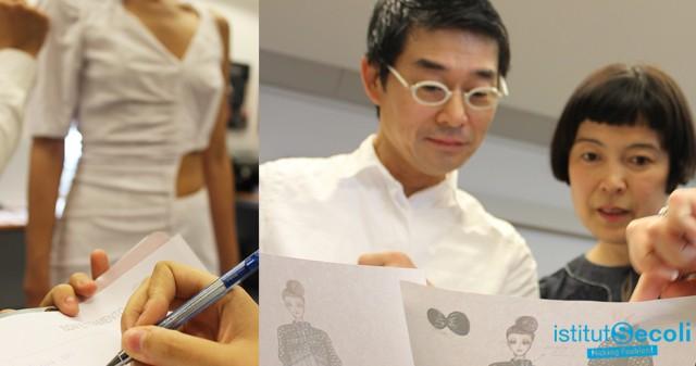 I designer incontrano Akira Minagawa