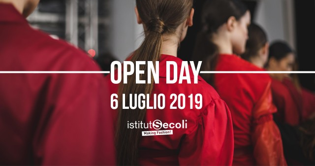 ON 6 JULY THERE IS THE OPEN DAY OF ISTITUTO SECOLI!