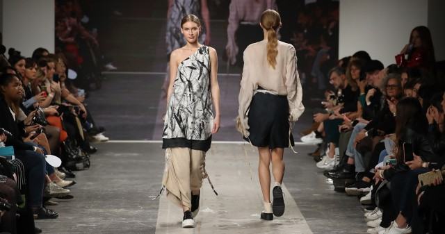 ISTITUTO SECOLI AND MICOL RIZZI ON THE MICAM CATWALK