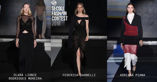 SECOLI FASHION CONTEST 2018: I VINCITORI