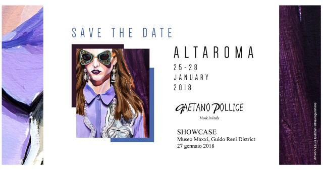 SHOWCASE ALTAROMA 2018 HOSTS THE NEW GAETANO POLLICE'S HANDBAGS COLLECTION