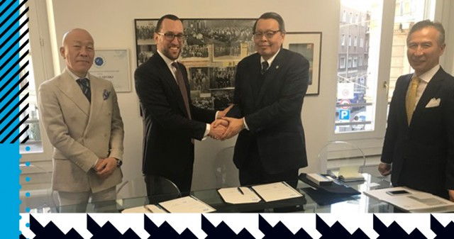 COLLABORATION BETWEEN ISTITUTO SECOLI AND BRAND TOMBOW HAS BEEN SIGNED