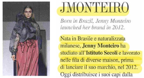 BRAND TO WATCH – JMONTEIRO