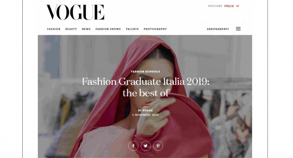 FASHION GRADUATE ITALIA 2019: THE BEST OF