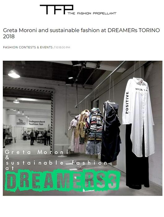 GRETA MORONI AT DREAMERS TORINO 2018