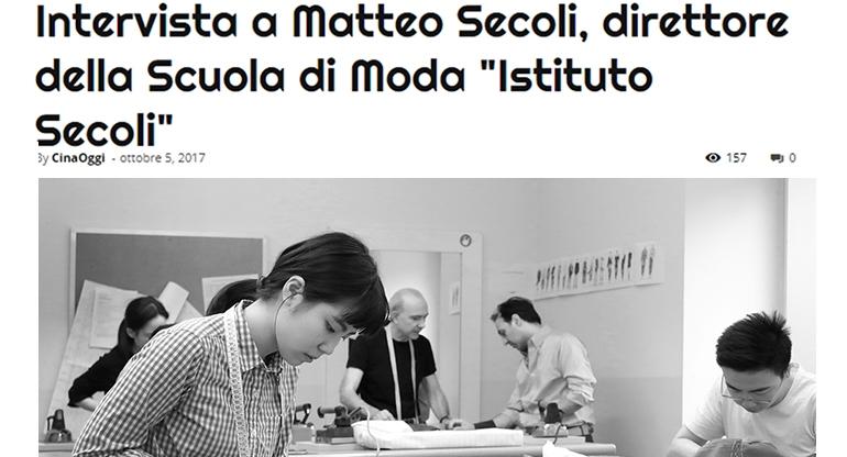 Intervista a Matteo Secoli