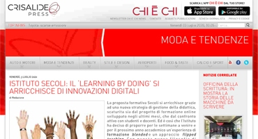 ISTITUTO SECOLI IL LEARNING BY DOING SI ARRICCHISCE
